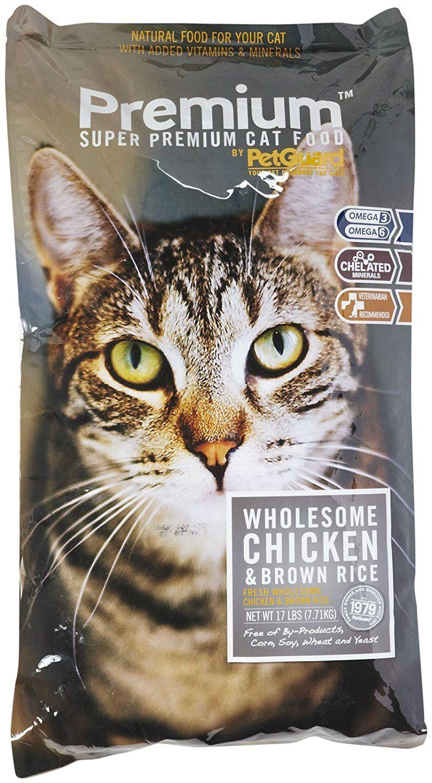 PetGuard Premium Dry Cat and Kitten Fresh Chicken 17lb