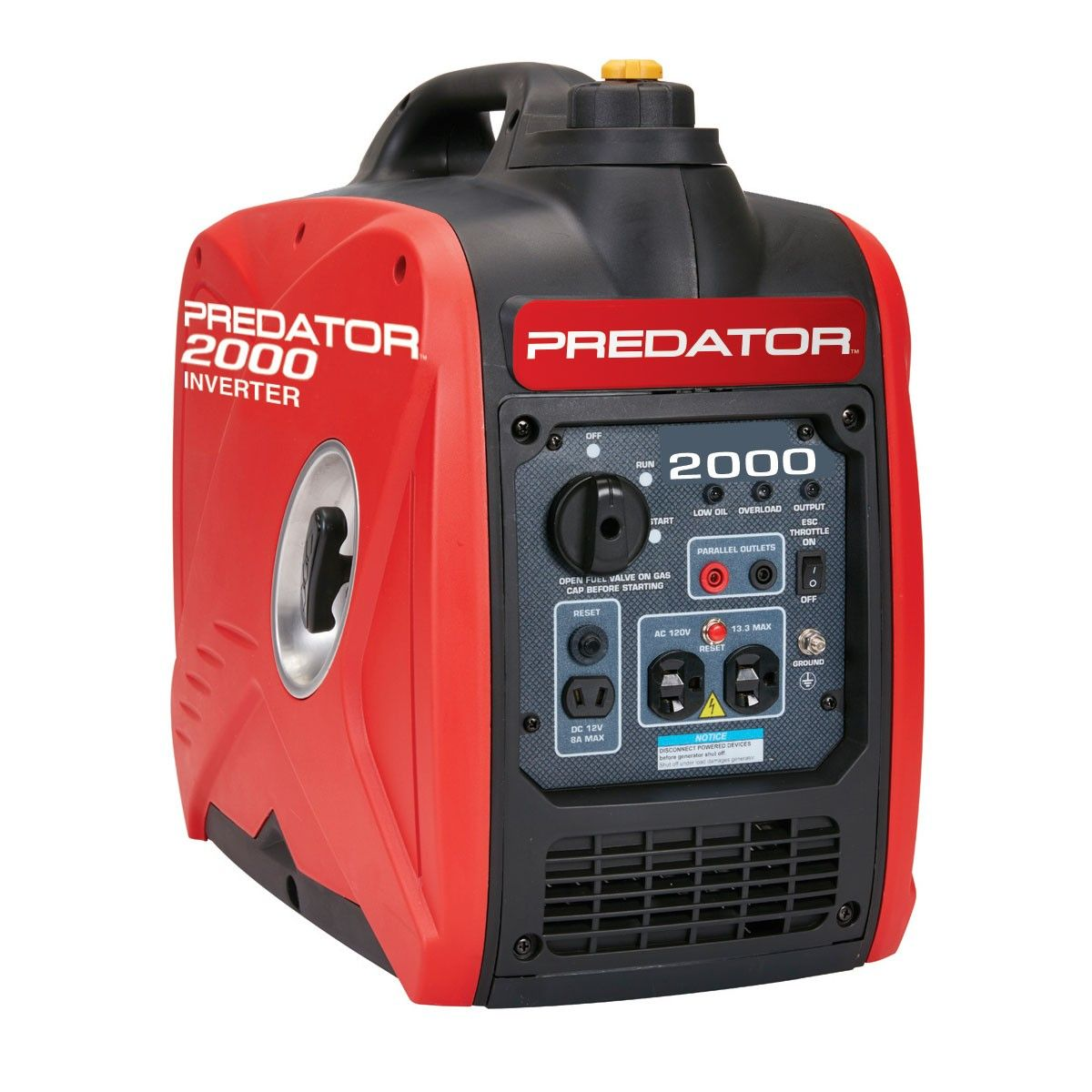 2000 Watt Super Quiet Inverter Generator Portable