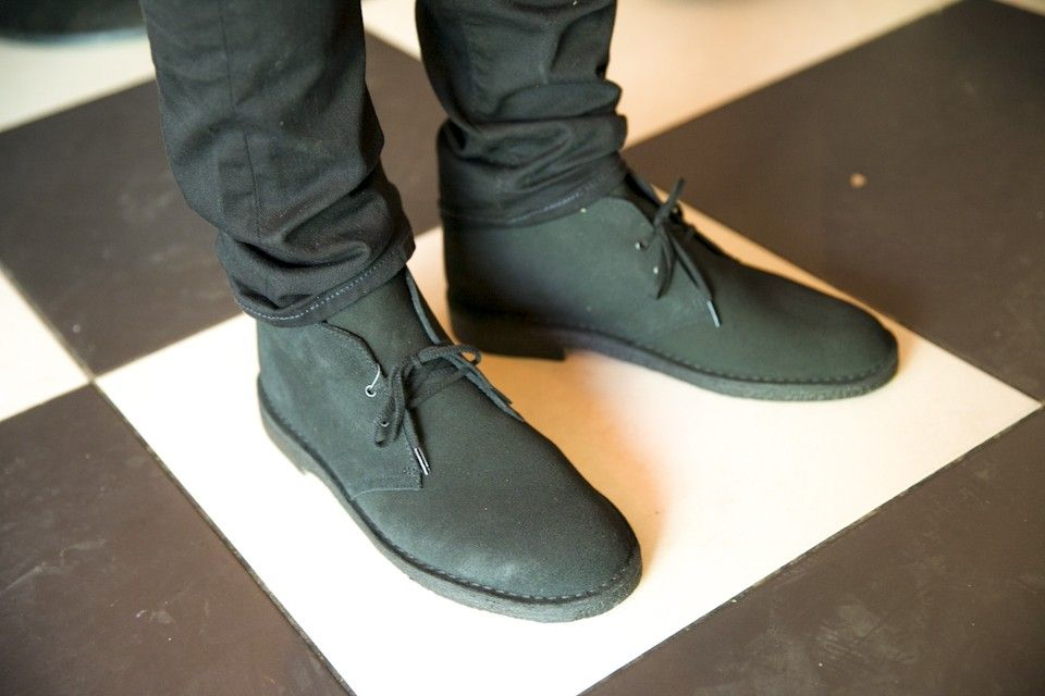 Desert boots Clarks noires #mode #look #chaussures #desertboots #shoes # boots