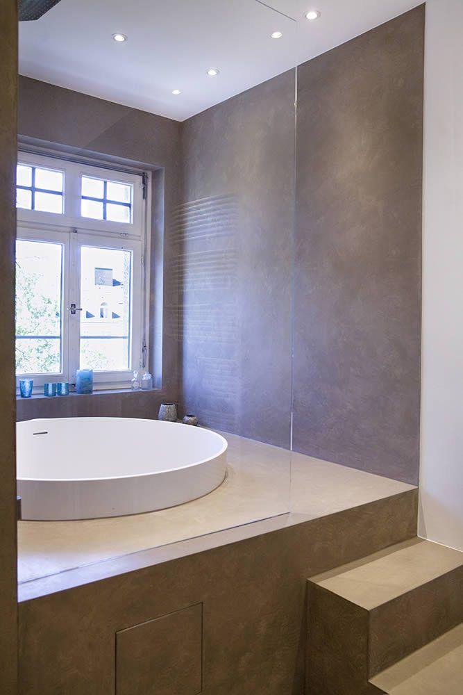 Fugenlose Bäder Beton badezimmer, Bad godesberg, Wohnung