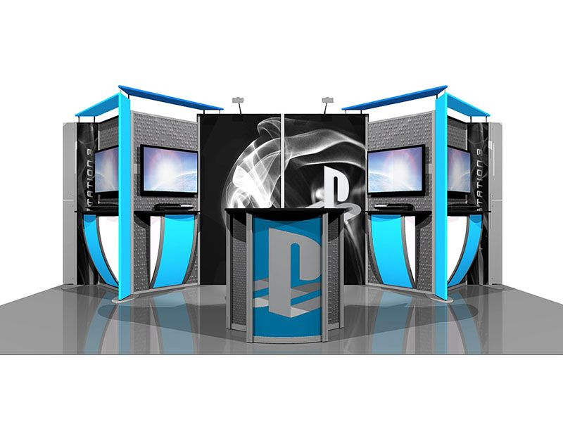 Trade Show Booth Design Ideas | Expo and Tradeshow Booth Ideas ...