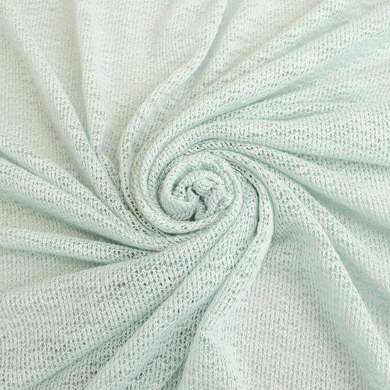 7f10769a883798 Blue Spa Cloud Knit Open Sweater Knit Fabric by by StylishFabric ...