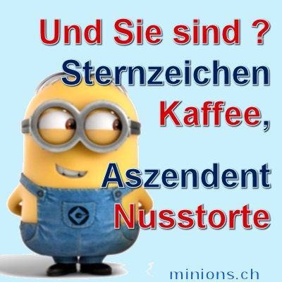 minions sternzeichen kaffee minions pinterest. Black Bedroom Furniture Sets. Home Design Ideas