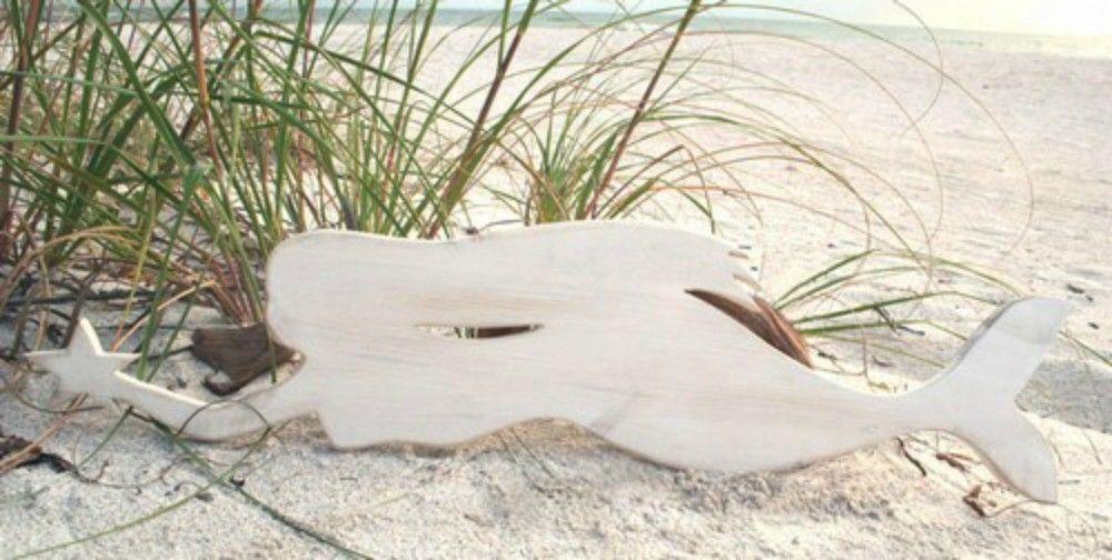White Mermaid Horizontal Swimmer