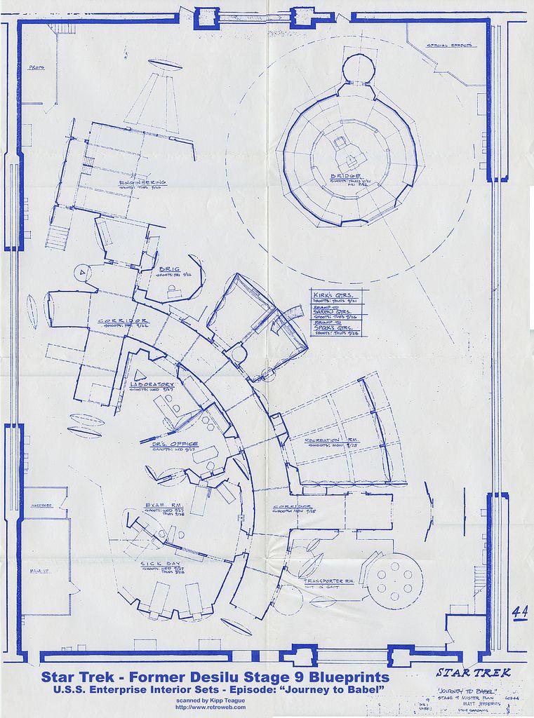 filming Star Trek - Desilu Stage 9 Blueprints - September 1967 - fresh blueprint events pictures