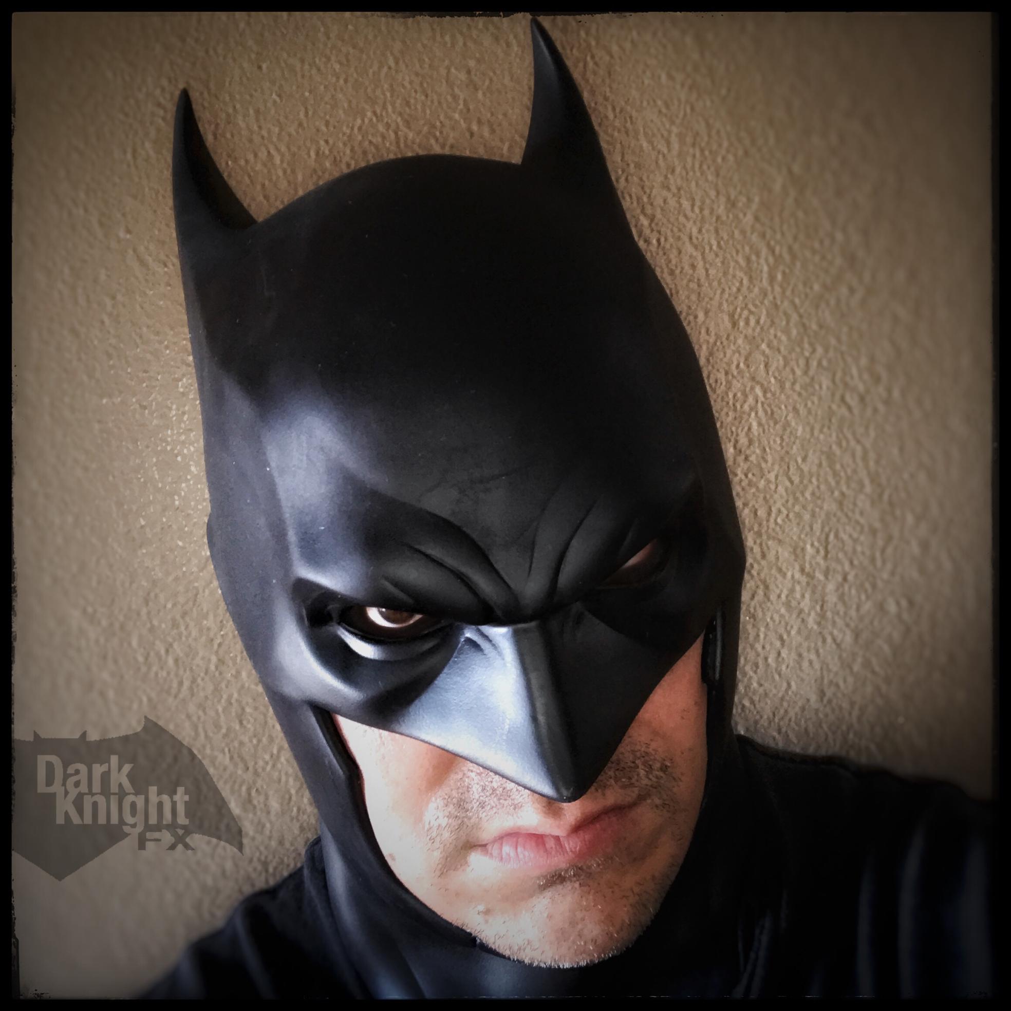 My Flashpoint Batman Cowl Batman Cowl Batman Batman Beyond