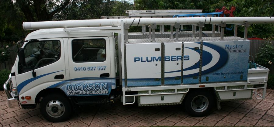 For The First Time In About 5 Years I Saw A Heavy Duty Plumbing Truck It Was A Little Like This One But Mostly Blu