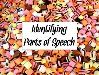 FREE identifying parts of speech worksheet : ) #partsofspeech