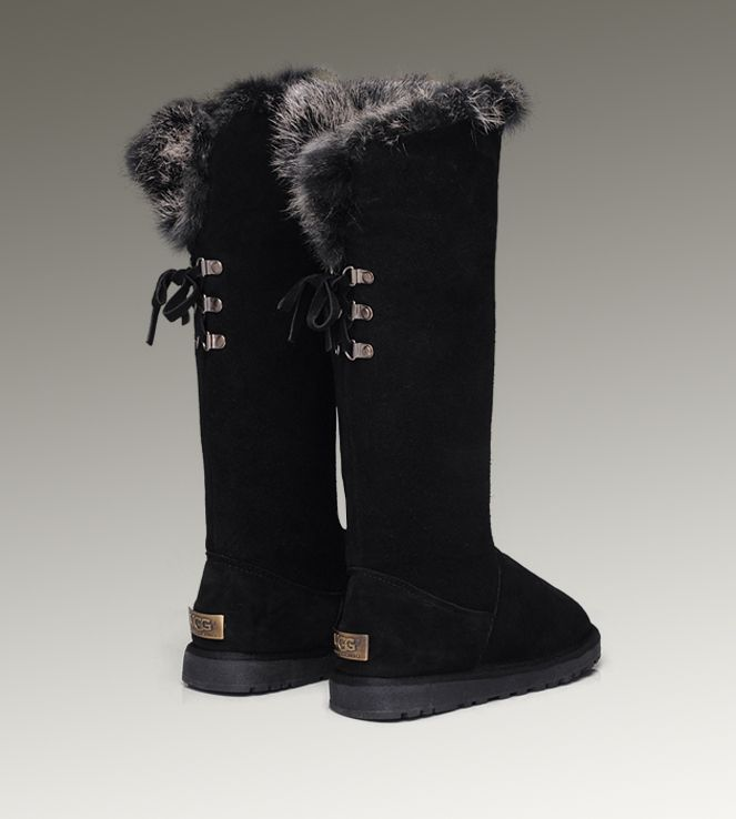 Ugg Fox Fur Tall 5369 Boots