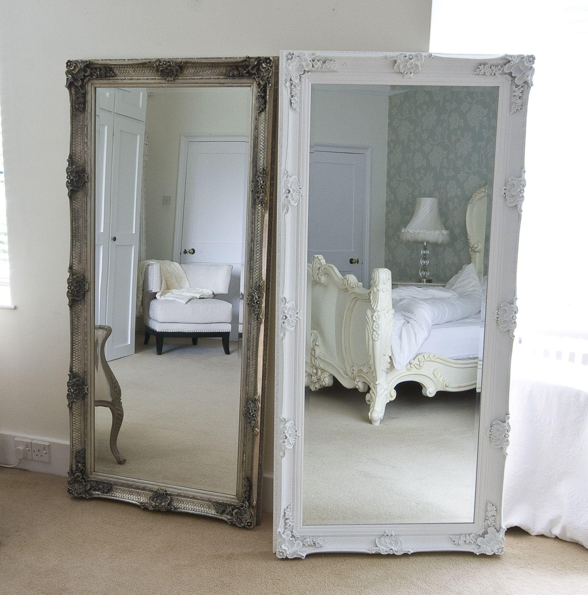 Silver Decorative Full Length Dressing Mirror | Dressing mirror ...