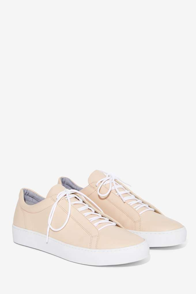 1be62bacfe81 Vagabond Zoe Leather Sneaker - Nude - Sale  Newly Added