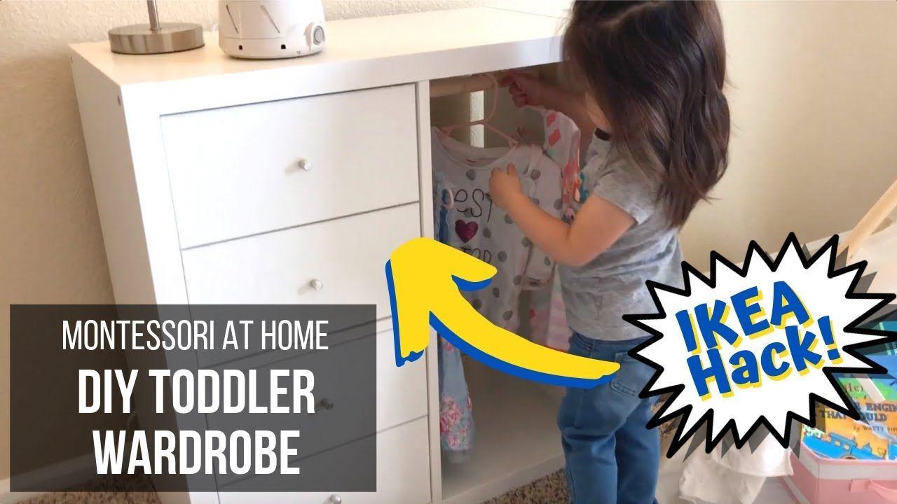 Montessori at home diy montessori wardrobe for toddlers