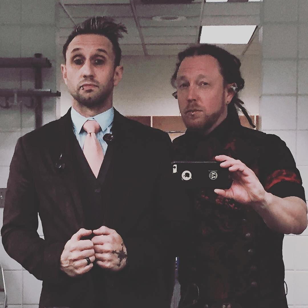 #Repost @bkerchofficial: Happy Halloween from @theotherguys_sd #Shinedown #BarryKerch #Ericbass