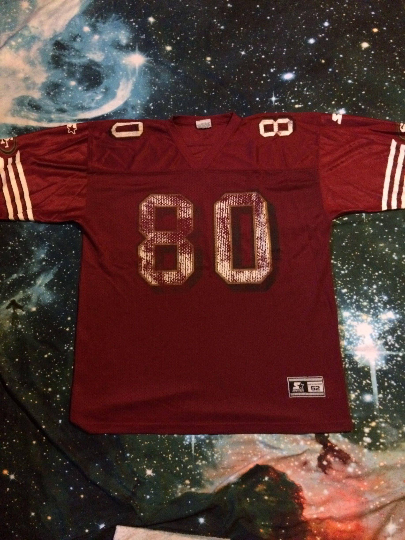 online retailer cf357 fd64b Vintage Jerry Rice San Francisco 49ers NFL Football Starter ...