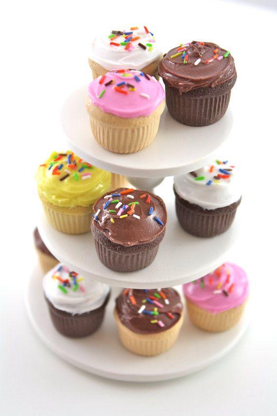 Fimo / polymer clay / cupcake