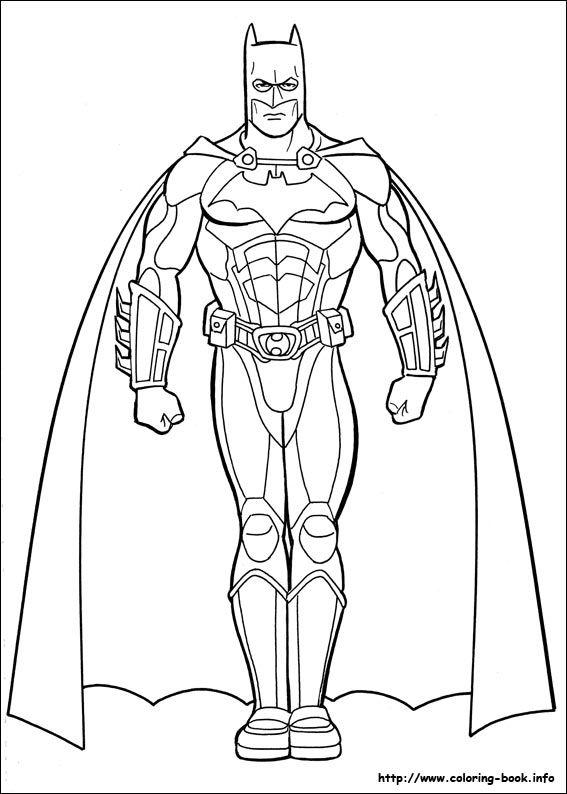 batman coloring picture - Batman Pictures To Colour