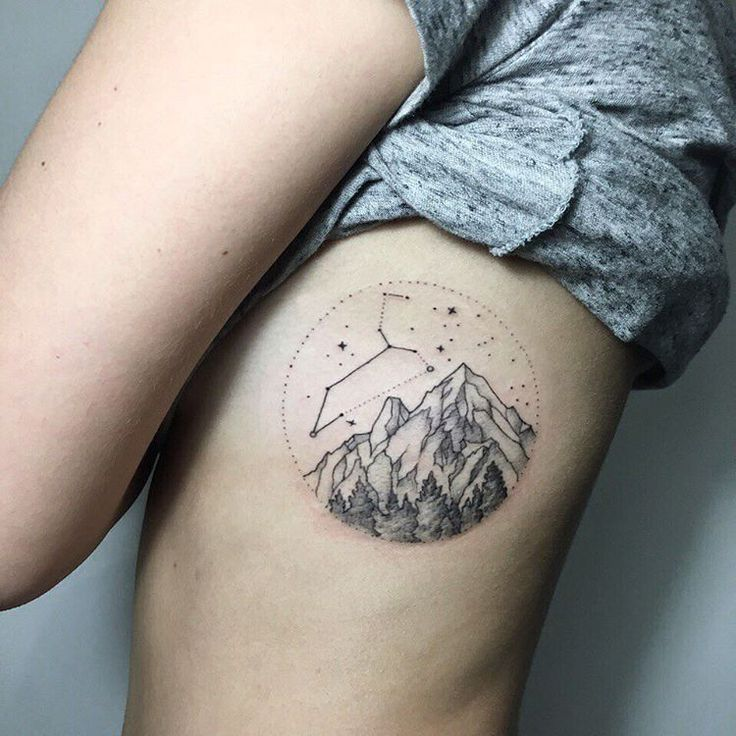 Photo of Tattoos Steinbock Sternbild Orion