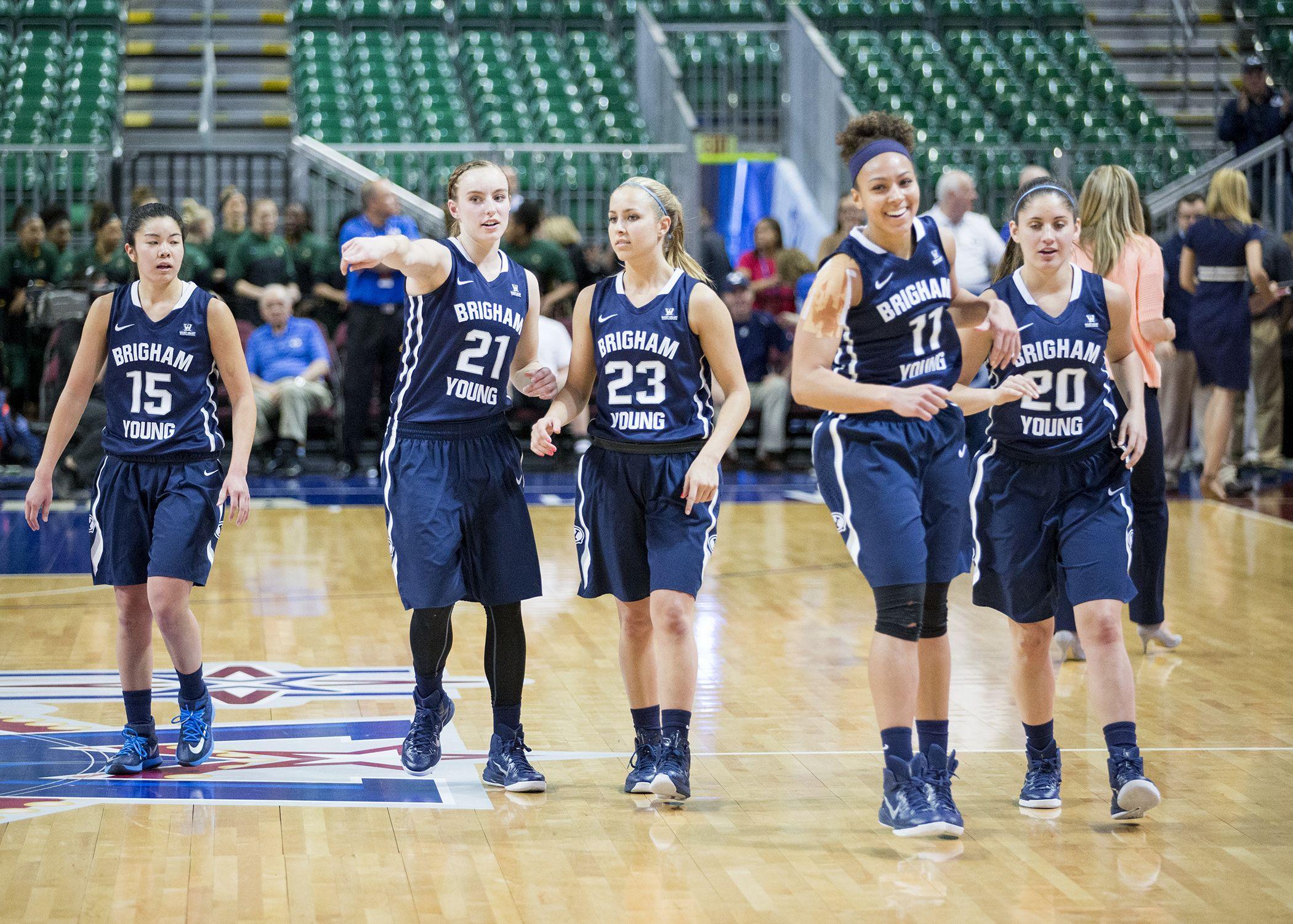 Wcc Championship Win Highlights Women S Basketball Season The Daily Universe Womens Basketball Basketball Season Basketball