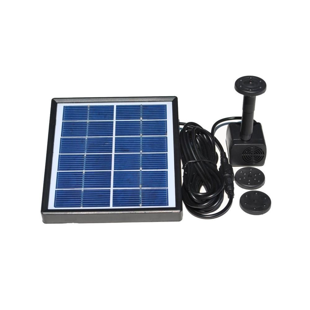 Garden water features solar power  SolarPowered Water Fountain Kit  Products  Pinterest  Water