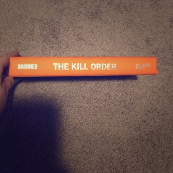 The kill order! From the Maze Runner author! This book doesn't have a cover, but is brand new and never been used. Other