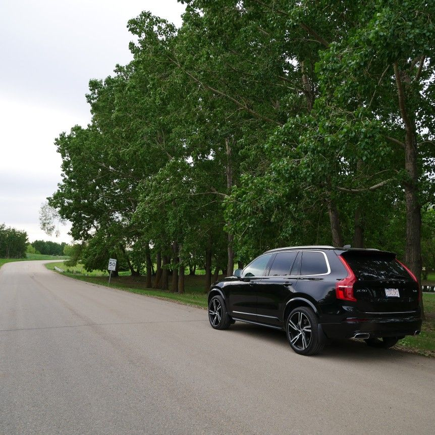 Volvo Xc90 R Design Black Interior: 2017 Volvo XC90 R-Design Onyx Black Out For A Country