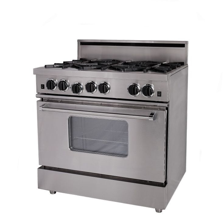 RCS Open Burner Series Freestanding Ranges | specs