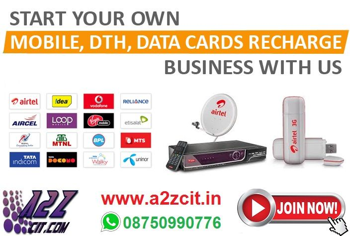 Get Huge Discounts on DTH Recharge Service only A2Zcit.in Join as an Agent, Earn Limitless Income. W: www.a2zcit.in Call for More Details: 09643402951 Whatsapp: 08750990776