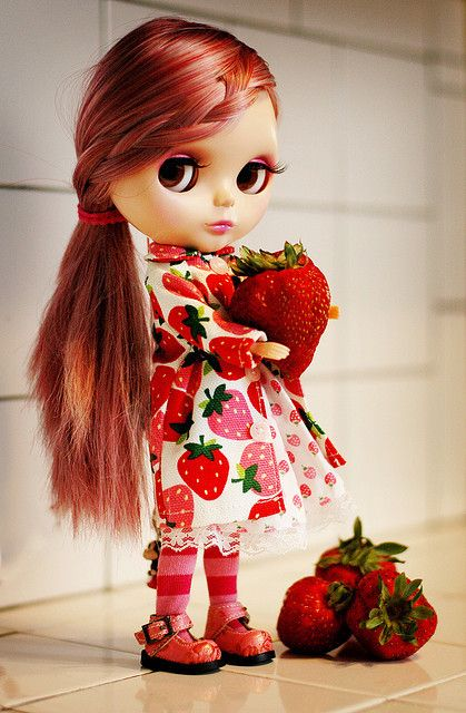 Blythe  (don't have any of these, but I've always thought they were cool)