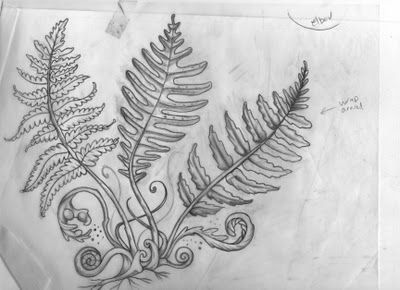b166a219d fern drawing | Style | Fern tattoo, Tattoos, Ferns