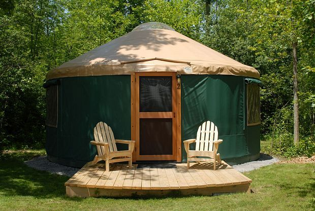 Branches Of Niagara Campground Yurt Rental Camping In Tennessee Yellowstone Camping Yurt Camping