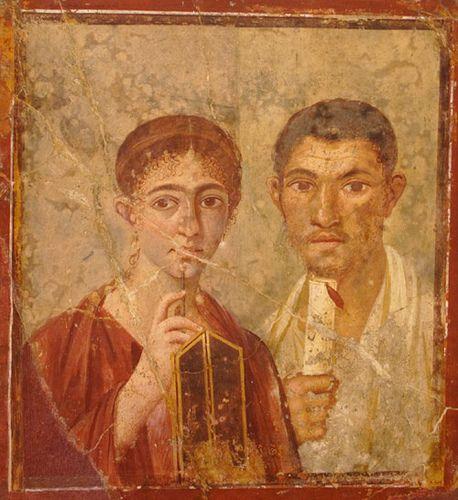 *POMPEII, ITALY ~ Fresco