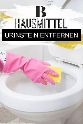 urinstein entfernen hausmittel und tricks wohnung. Black Bedroom Furniture Sets. Home Design Ideas