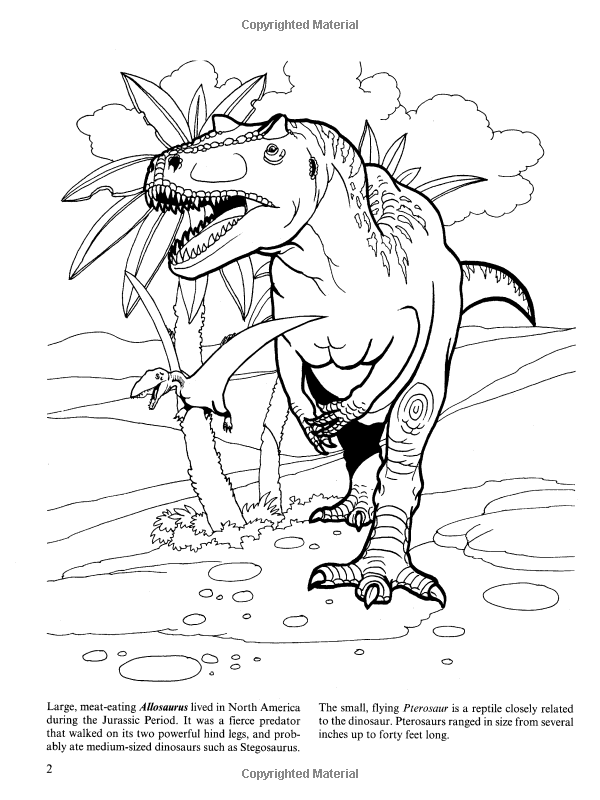 Dinosaurs! Coloring Book: Jan Sovak: 9780486469874: Amazon.com ...