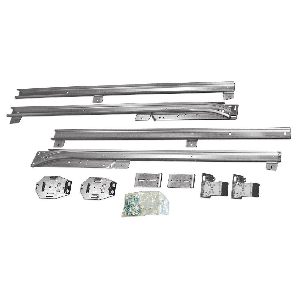 Acquire The Clopay Low Headroom Conversion Kit 0120678 To Modify The Standard Track Assembly In 2020 Garage Door Styles Garage Door Insulation Kit Garage Door Design