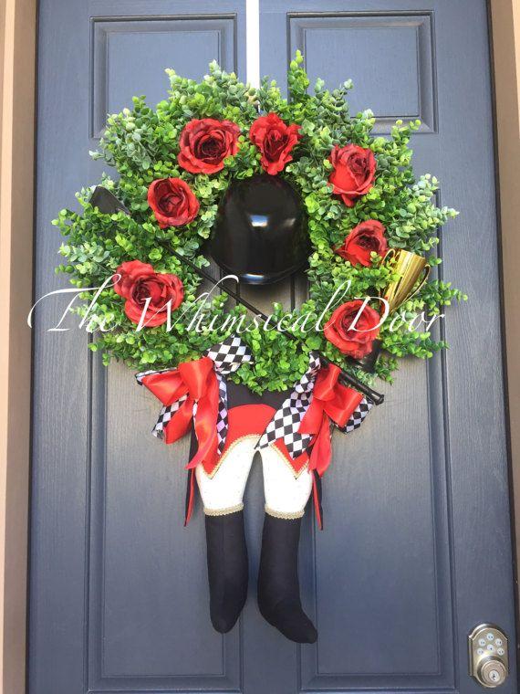 Kentucky Derby Wreath