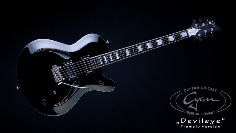 Cyan Guitars Devileye