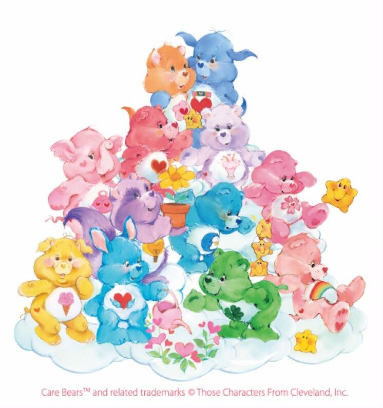 Care Bears Wallpaper: Care Bears And Care Bear Cousins