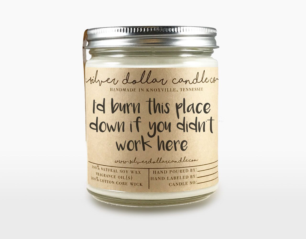 d7d6c17a74a9c Co-worker Candle Gift | Co worker gift, Gift for coworker, Gift for ...