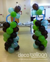 18. Pacifier Balloon Column