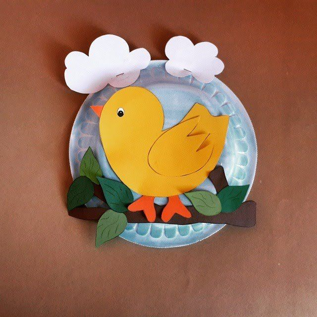 paper plate bird craft & paper plate bird craft | paper plate crafts for children can make ...