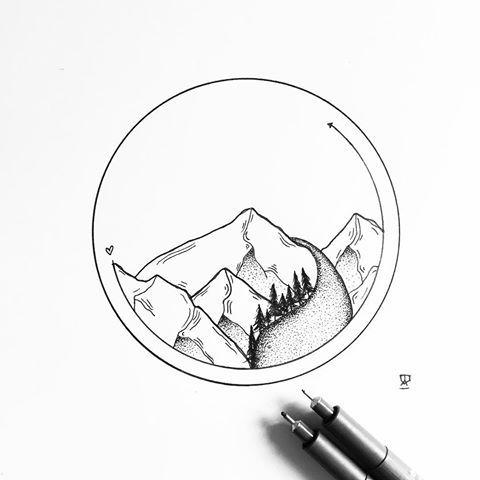 We Will Rise Again Illustration Illustrator Design Sketch Draw Drawing Ink Tattoo Tattoodesign Lan Circle Art Circle Drawing Circle Tattoos