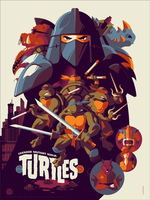 Teenage Mutant Ninja Turtles Posters From Mondo Onsale Info Teenage Mutant Ninja Turtles Art Ninja Turtles Art Ninja Turtles