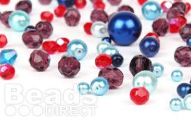Stock up on all your favourite beads and get making some gorgeous jewellery! Why not have a browse through our products, you're sure to find something you love!