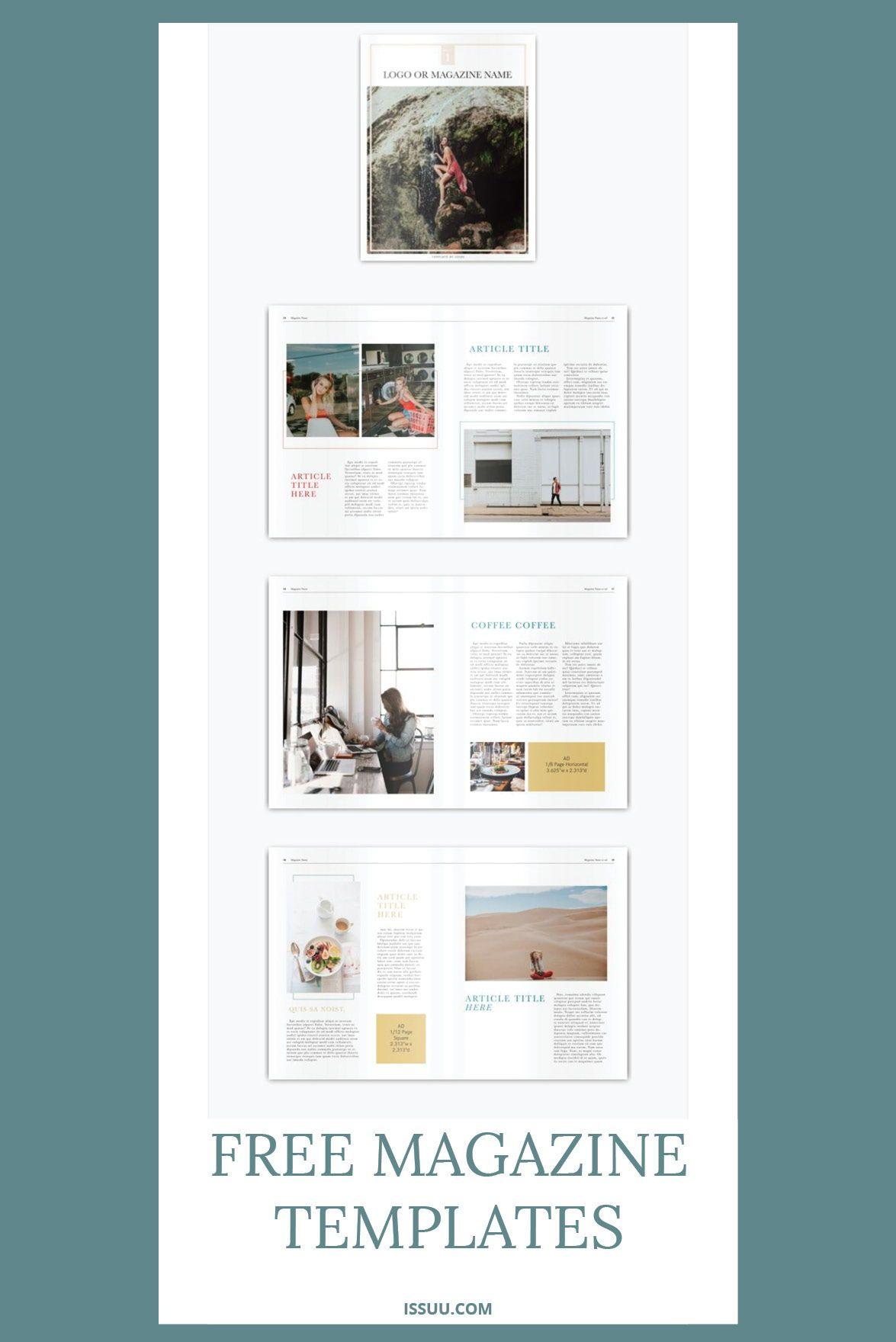 Free Download Online Magazine Templates Adobe Magazine Creator