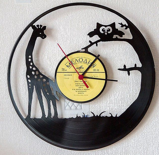 Recycling Vinyl Records – 24 Clever Household Ideas | Household ...