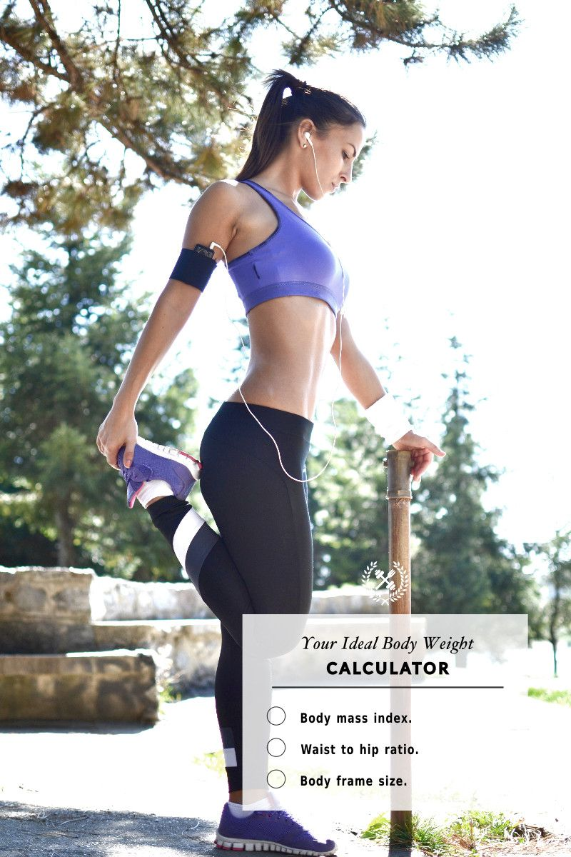 Ideal Weight Calculator | Healthy body weight, Calculator and Bodies