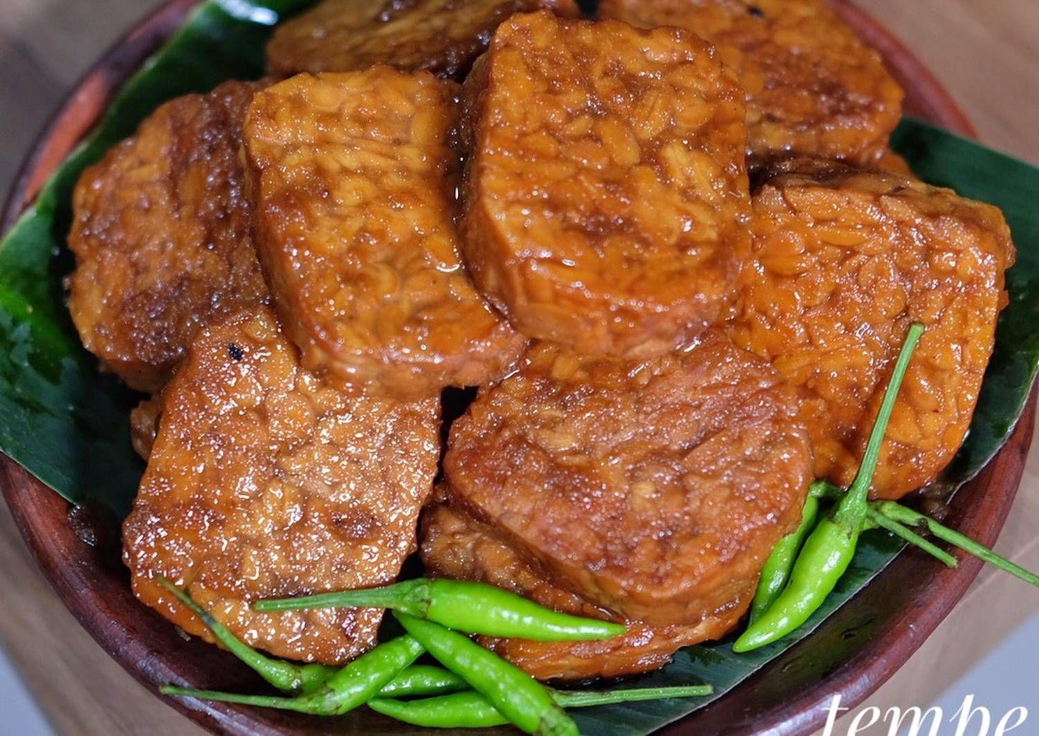 Resep Tempe Bacem Oleh Susi Agung Resep Di 2020 Resep Masakan Resep Tempe