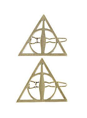 Harry Potter Deathly Hallows Hair Clips Harry Potter Merchandise Shirts Harry Potter Deathly Hallows Harry Potter Merchandise