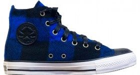 Converse Chuck Taylor All Star Hi Top Woolrich Wool Black/ Blue