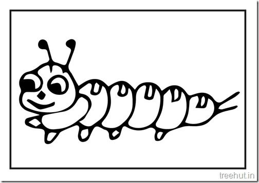 Butterfly Caterpillar Coloring Pages 3 Coloring Pages Color Caterpillar